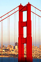 Golden Gate bridge. San Francisco. California, USA (thumbnail)