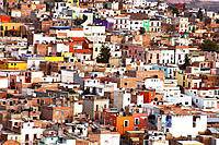 Houses. Zacatecas, Mexico