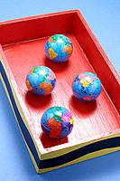 Globes in box