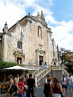 Church of San Giuseppe, Taormina. Sicily, Italy