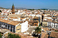 Overall view, Antequera. Málaga province, Andalusia. Spain