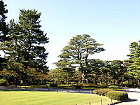 Kenroku-en Garden, one of the Three Great Gardens of Japan: old private garden of Kanazawa Castle, developed from the 1620s to 1840s by the family of ...