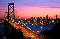 Bay Bridge. San Francisco. California. USA