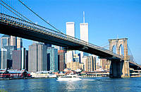 Brooklyn Bridge. New York City. USA