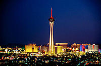 Stratosphere tower. Las Vegas. Nevada. USA