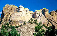 Mount Rushmore National Monument. South Dakota. USA