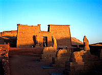 Temple of Wadi el-Sebua. Egypt