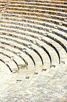 Greek theatre, Kourion archeological site. Cyprus