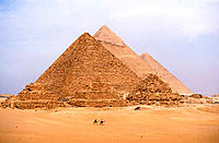 Pyramids of Giza. Egypt