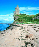 Greenan Castle, near Ayr. South Ayrshire. Scotland