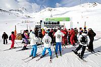 Ski resort. Pas de la Casa. Andorra.
