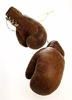 Close_up of boxing gloves