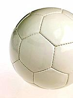 Close_up of soccer ball