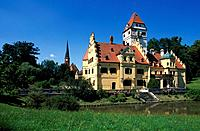 Germany, Europe, Bavaria, Schonau, castle, Lower Bavaria, travel, Bayerisches Thermenland, Baderdreieck, Schonau, Schl