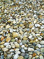 stone, stones, round, different, many, silence, water, erosion, washed, shore, bank, river, creek, lake, nature