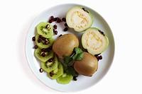 Kiwi Fruit on Plate
