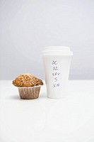 Coffee and a muffin
