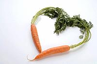 Heart of carrots
