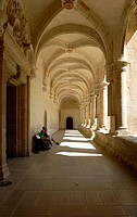 Corridor of museum, Museo de las Culturas de Oaxaca, Oaxaca, Mexico