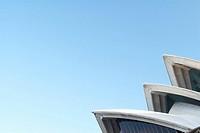 Detail of Sydney Opera House, Sydney, Australia.