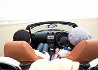 Couple having a drive