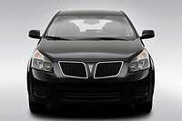2009 Pontiac Vibe 2.4L in Black _ Low/Wide Front