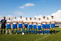 Portrait of Soccer Team