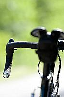 Close_up of drop handlebar