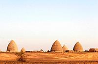 The oblong pyramids of Old Dongola