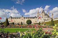 LAbbaye aux Hommes Hotel d ville Caen Calvados Basse-Normandie France