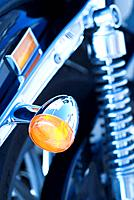 Motocycle, Harley Davidson, detail