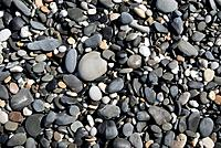 Pebbles on a beach. Photographed at De Hoop Nature Reserve, South Africa.