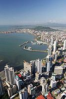 Panamá bay and banking area, Panamá city, Rep.of Panamá, Central America. 2006