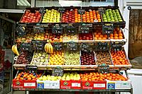 Fruit store shop, Paris, France