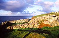 Dunbeg stone fort, near Dingle, County Kerry, Ireland