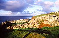 Dunbeg stone fort, near Dingle, County Kerry, Ireland