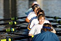 Crew Team Rowing