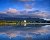 Muckross Lake, Ross Castle, Killarney, Co Kerry, Ireland