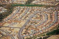 USA, Arizona, aerial view of residential district