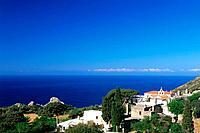 Cloister, Moni_Preveli, Crete, Greece
