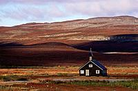 Church of Sami People, Duoddar north of Alta, Finnmark, Norway