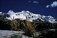 View of a mountain, Huyana Potosi, Landscape, Bolivia