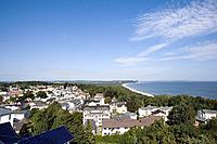 Overview, Goehren, Ruegen, Baltic Sea, Mecklenburg_Western Pomerania, Germany