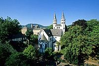 Neuwerk church, Goslar, Harz Mountains, Lower Saxony, northern Germany, UNESCO, World Heritage Site, list