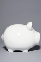 White piggybank