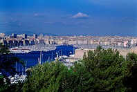 Marseille France Old Harbour