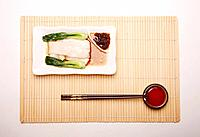 A plate of rice noodle roll (thumbnail)