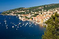 South of France, Villefranche sur Mer, harbour view Date: 12 02 2008 Ref: WP_B726_110139_0060 COMPULSORY CREDIT: World Pictures/Photoshot