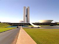 brasilia federal district national congress building architecture