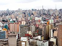 sao paulo aerial view of the city during the day